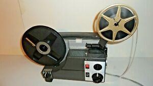 1976 SANKYO DUALUX 2000H 8MM MOVIE PROJECTOR