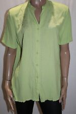 Millers Brand Lime Embroidered Short Sleeve Shirt Top Size 14 BNWT #TQ118