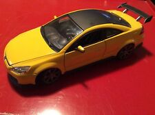 Honda Accord 2003 yellow/ spoiler  1:18 by motor ax loose display piece nice