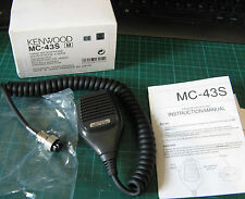 Kenwood mc-43s 8 broches micro main dynamique poing boutons haut / bas radio amateur
