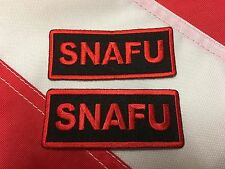 SNAFU morale patch tactical survival fun army marines navy gift idea # 699
