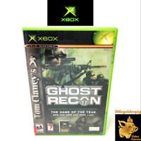 Tom Clancys Ghost Recon (2002) Xbox Original Game Microsoft Case Tested & Works