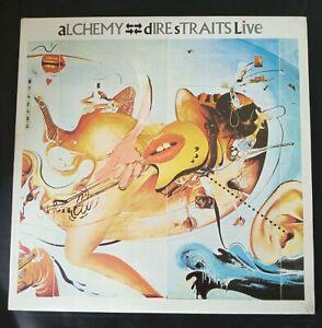 Dire Straits Alchemy Live Double Vinyl lp Korea Pressing Record