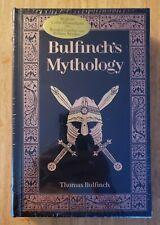 (New & Sealed)Bulfinch's Mythology by Thomas Bulfinch Collectible Bonded Leather