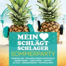 MEIN HERZ SCHLÄGT SCHLAGER-SOMMERPARTY - VANESSA MAI/ANDREA BERG/+ 2 CD NEUF