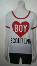 "Juniors T-shirt  Ringer Style "" Boy Scouting"" Logo- Size Medium--****NEW****"