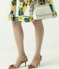 Dolce Gabbana Jewel Icon Sandals Mules Pumps Shoes Mule Sandal Shoes 39