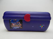 Large Caboodles Make Up Storage Case Caddy Travel Hair Craft Caddy Purple Violet
