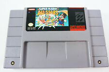 Super Mario All stars Super Nintendo System SNES Game Cart Only Tested