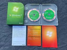 Microsoft Windows 7 Home Premium, GFC-00025, Full UK Retail box, 32/64 bit DVD's