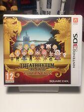 Theatrhythm Final Fantasy Curtain Call NINTENDO 3DS juego 2DS 3DS XL Reino Unido PAL en muy buena condición