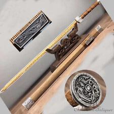 Plough To Evil Spirits Sword High Manganese Steel Blade Polishing Sharp #1360