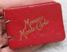 Monaco Monte Carlo Promotional Photograph Book Advertising Travel La Cigogne Red