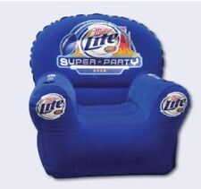 Miller Lite Super Party Inflatable Chair Superbowl XLII 2008
