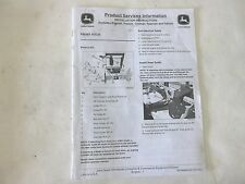 John Deere Front Hitch Installation Instructions for X400 Series
