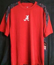 University of Alabama Men's Crimson and Grey Dri-Fit Short Sleeve Tee