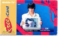 TIM FREE CARD MOBILE TV CARTONCINO PROMOZIONALE SERVIZI