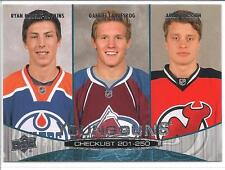 RYAN NUGENT-HOPKINS /LANDESKOG/ ADAM LARSSON 2011-12 Upper Deck YOUNG GUNS #250