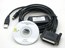 Mitsubishi PLC Cable USB SC09 MELSEC full FX or A PLC's