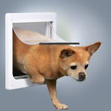 Trixie Porta basculante XS - S bianca a 2 funzioni per Cane