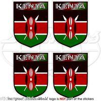 """Kenya kényen né et fier afrique afrique 100mm decal 4/"""" vinyle autocollant"""
