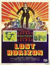 Lost horizon 1937 Frank Capra vintage movie poster print