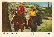 DUTCH MOVIE STAR GUM CARDS - No. 104 MONTE HALE