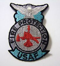 USAF FIRE PROTECTION FULL COLOR PATCH NEW :K5