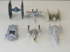 Lot of 6 Star Wars Titanium Series Vehicles Ships Die Cast  loose