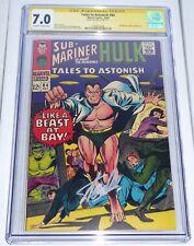 Tales to Astonish #84 CGC Signature Series Autograph STAN LEE Sub-Mariner Hulk