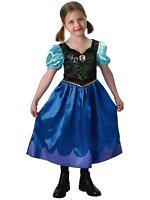 Anna Classic Child's Costume, OFFICIAL Disney Frozen, Small, Medium And Large