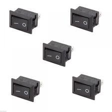 10X pro SPST Ein / Aus-Schalter Mini 2 Stecker Kippschalter 12V schwarz Werkzeug