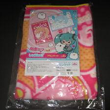 Hatsune MIku and Shuumai-kun Blanket Ver.B Japan VOCALOID TAITO official