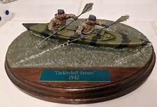 New listing BUILT PAINTED RP MODELS 75mm BRITISH WW2 BLONDIE HASLER ROYAL MARINES CANOE SET
