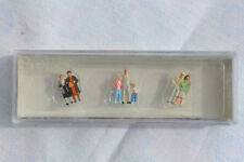 Einkaufsbummel Preiser 75011 Spur TT 1:120 handbemalt Miniaturfiguren 7 Figuren