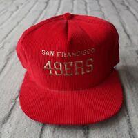 Vintage San Francisco 49ers Snapback Hat Cap Niners