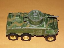 "VINTAGE TOY   USA  4 3/4"" LONG TOOTSIETOY METAL ARMORED CAR"