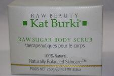 Kat Burki Raw Sugar Body Scrub 8.8 Oz. (BNIB)