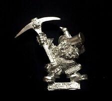 Warhammer edad de Sigmar ciudadela enano borracho minero raras (P192) -- Libre P&P