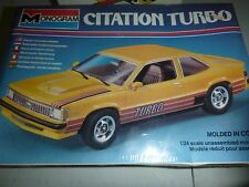 Monogram CHEVY CITATION TURBO 1/24 Model Car Mountain KIT FS