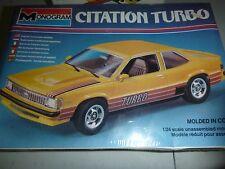 Monogram CHEVY CITATION TURBO 1/24 Model Car Mountain KIT FS