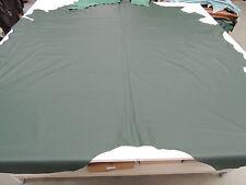Lederhaut Ökoleder dunkelgrün Polsterleder Leder Rindleder echtes Leder ab 1 qm.