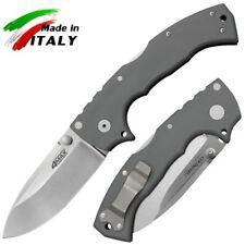 Cold Steel 62RN 4-Max Knife Drop Point Tri-Ad Lock Folder Cool Gray G10 Handle
