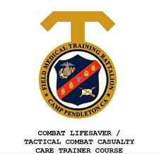 489 page USMC TACTICAL COMBAT CARE TCCC TRAINER INSTRUCTOR & STUDENT Manual CD