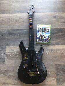 Xbox 360 RedOctane Guitar Hero World Tour Guitar With Rockband Game!