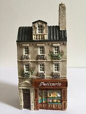 Miniature J Carlton Dominique Gault French Paris Pastry Bakery Shop Building