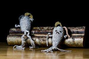 Crochet Mandrake Root Keychain - Wicca Plant Magic Handmade Yorkshire Witch