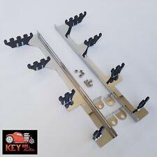 Small Block Chevy Chrome Linear Spark Plug Wire Loom Separators 305 327 350 400