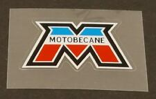 Motobecane Head Badge Decal / French Colors (sku Moto701)