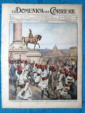 La Domenica del Corriere 4 agosto 1912 Roma - Regina Elena - Lipsia